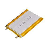505573 2500mAh 3.7V Lithium Polymer Battery (Can be customized)
